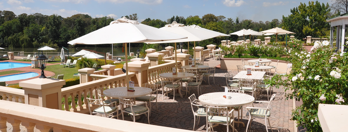 Bon hotel riviera on vaal restaurant on the vaal river for Terrace hotel restaurant